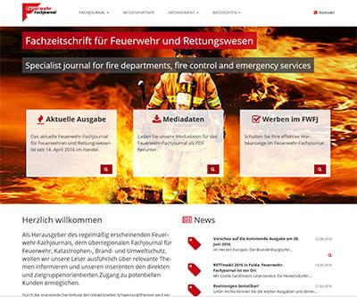 Feuerwehr Fachjournal, Feuerwehrfachzeitschrift